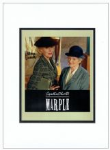 Marple Autograph Signed Photo - McKenzie & Lumley